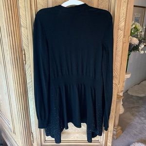 White House Black Market Sweaters - White House Black Market Midnight Cardigan
